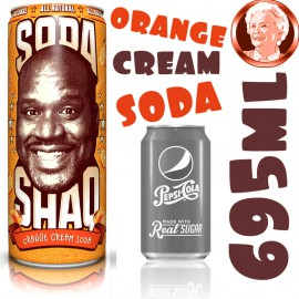 Arizona Soda Shaq Orange Cream GIGA