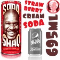 Arizona Soda Shaq Strawberry Cream GIGA