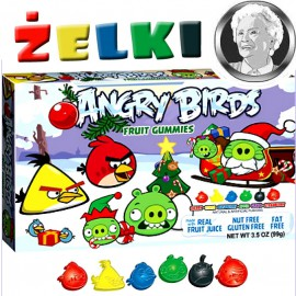 Angry Birds Fruit Gummies - żelki