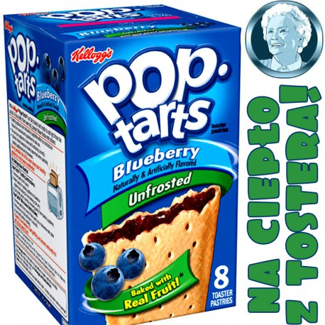 Pop Tarts Blueberry x 8