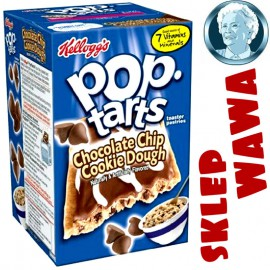 Kellogg's Pop Tarts Frosted Chocolate Chip Cookie Dough 8 Toaster Pastries 400g