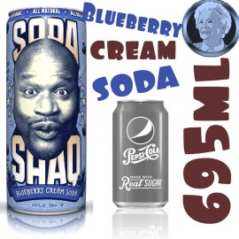 Arizona Soda Shaq Blueberry Cream GIGA